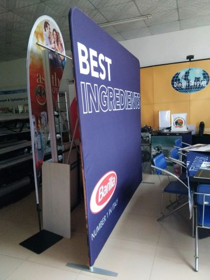 Stretch Fabric Exhibition Stands : China special stretch fabric indoor advertising banner