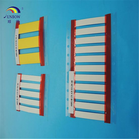 2 1 Military Grade Printable Polyolefin Heat Shrink Cable Marker Sleeves
