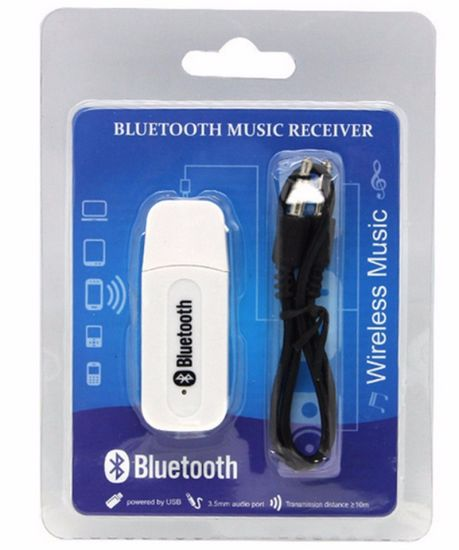 Dongle 3.5mm Audio Aux USB Wireless Bluetooth Music Receiver pictures & photos
