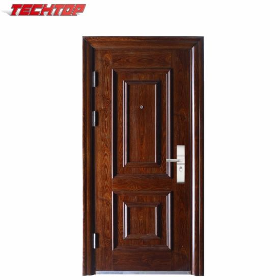 TPS-050 3D Design Main Safety Door Material Steel Door
