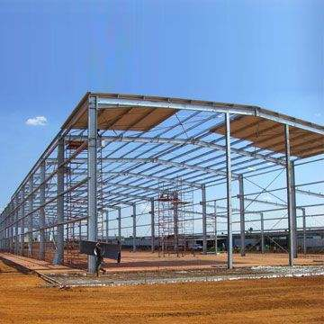 Low Cost Prefab Steel Aircraft Hangar Arch Truss Roof pictures & photos