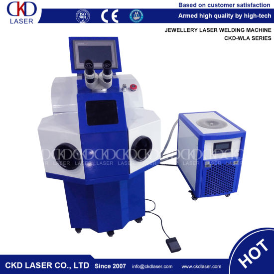 High Speed YAG Laser Welding Machine Used for Jewelry pictures & photos
