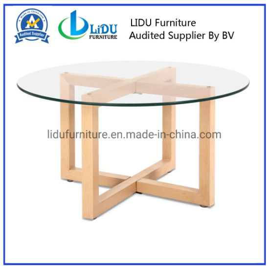 Best Sale Wooden Round Coffee Tables Simple Side Table Round End