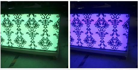 LED Translucent Artificial Marble Bar Counter pictures & photos