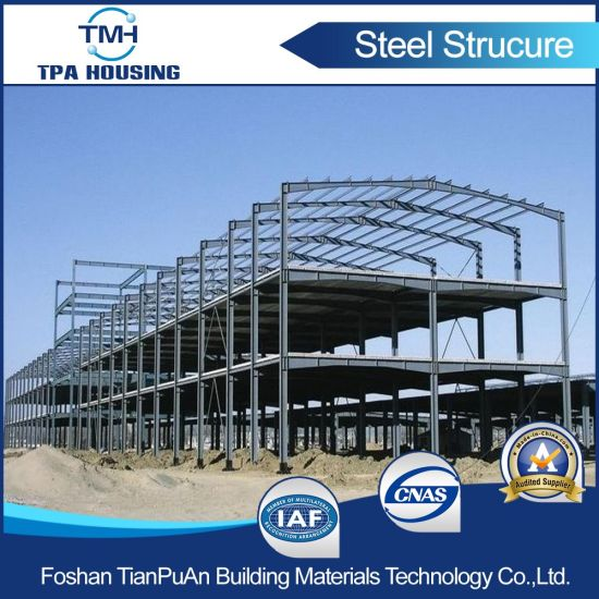 China Cost-Effective Low Carbon Steel Frame Steel Structure Building ...