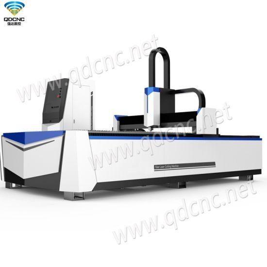Fiber Laser Cutter for Metals with 750W, 1000W, 1500W, 2000W, 3000W Qd-M1530FL Fiber Laser Cutting Machine/ 1000W Fiber Laser Metal Cutting Machine Prices