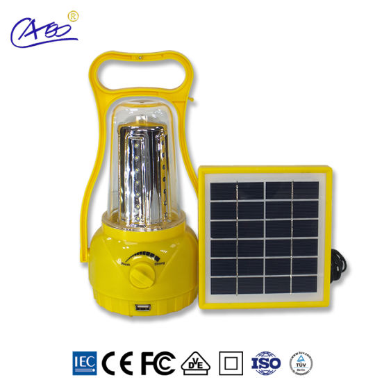 Energy Saving LED Lamp Portable Solar Lantern Camping Light for Indoor/Outdoor pictures & photos