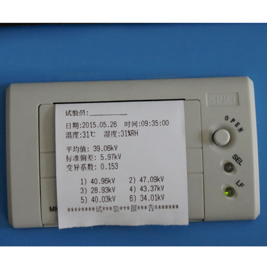 China Best Selling Electronic Power Portable Transformer Oil Bdv Tester pictures & photos