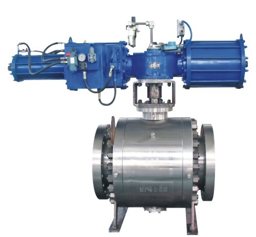 High Performance V Type Control Ball Valve API607 API6d Ce pictures & photos