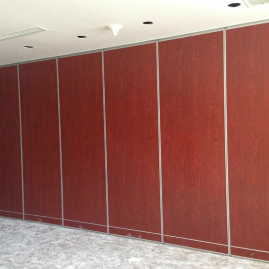 Ceiling Track Sound Insulation Material Movable Partition Walls for Function Hall