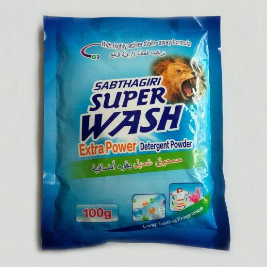 100g OEM Laundery Detergent/ High Foam Detergent Washing Powder