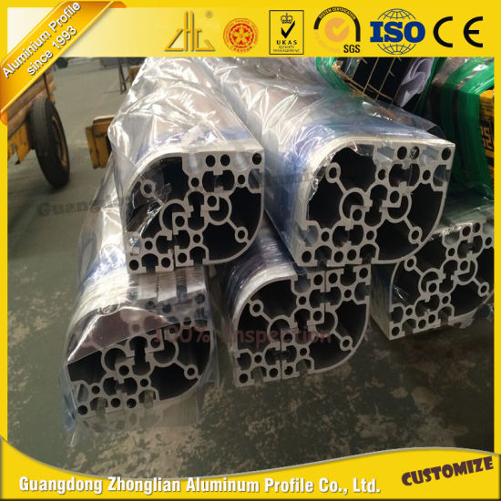 Customized Industrial Aluminum Alloy Guardrail Production Line pictures & photos