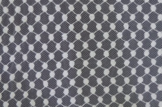 High Quality Embroidery Lace Fabric Polyester Trimming Fancy Melt Polyster Lace for Garments & Home Textiles E30006