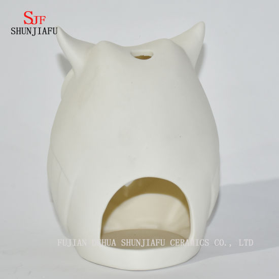 Owls Shape Ceramic Candle Holders/D pictures & photos