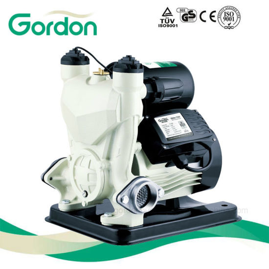 Domestic Electric Copper Wire Self-Priming Booster Pump with Plastic Box pictures & photos