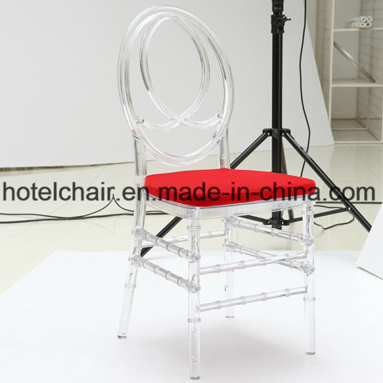 China Hot Clear Plastic Wedding Ghost Chair