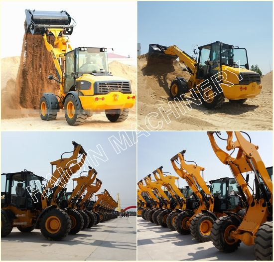 New Design High Quality Wheel Loader (H928) with Breaker pictures & photos