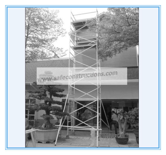 Safe Ce Approved Aluminum Scaffold for Decoration pictures & photos