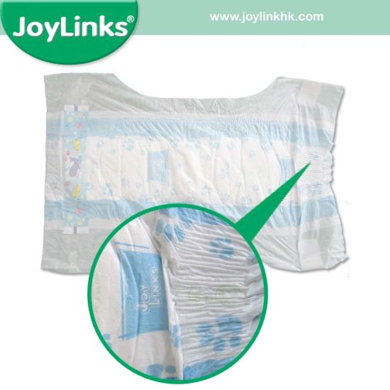 Joylinks New Baby Diaper with Magic Refastenable System