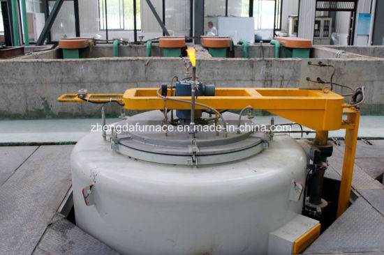 Pit Type Gas Nitriding Furnace for Gears, Chains, Bearings, Hydraulic Components pictures & photos