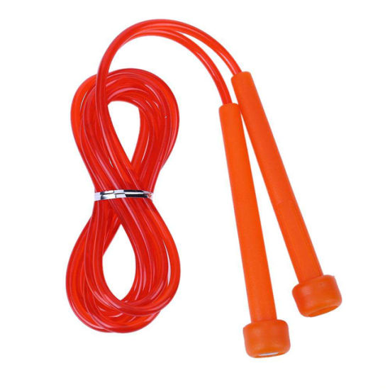 Adjustable 2.4m Speed Jump Rope Fitness Sport Exercise Wire Skipping