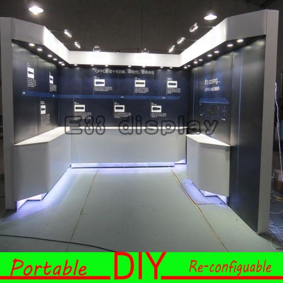 Custom Exhibition Stand Goals : China custom portable modular led illuminated exhibition booth