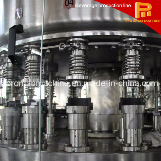 Stably and Efficiently Glass Bottle Filling Machine pictures & photos