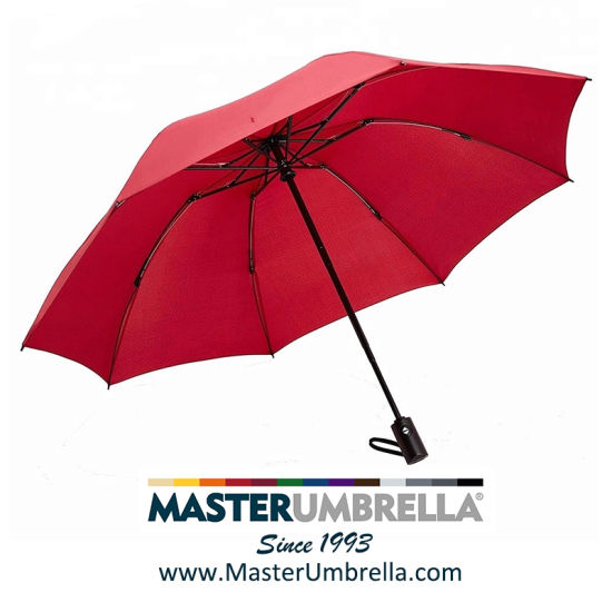 High Quality Automatic 3 Fold Gift Umbrellas with 8 Ribs (TKET-1005)