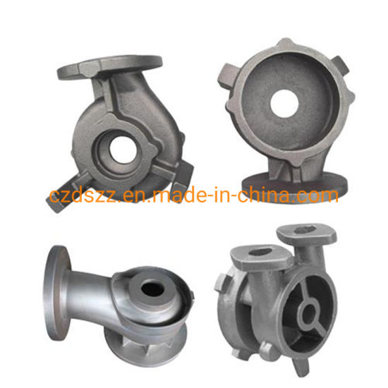 Valve Body Casting, Resin Sand Iron Casting Made in China pictures & photos