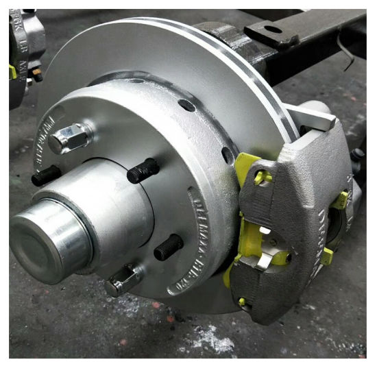 China Galvanized Trailer Axles For Boat Trailer China Boat