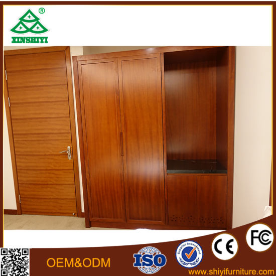 Solid Wood Bedroom Furniture with Oak Wood for Hotel Bedroom pictures & photos