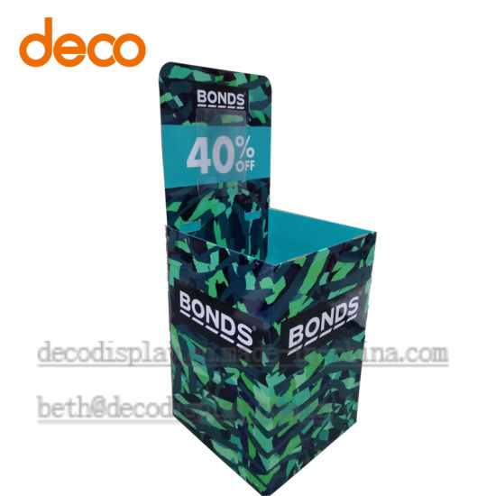 Display Stand Pallet Display Cardboard Display Dump Bins pictures & photos