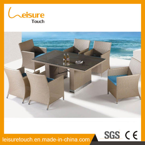 High Quality Garden Furniture China american style synthetic aluminum rattan cube dining table and american style synthetic aluminum rattan cube dining table and chairs used commercial high quality outdoor furniture workwithnaturefo