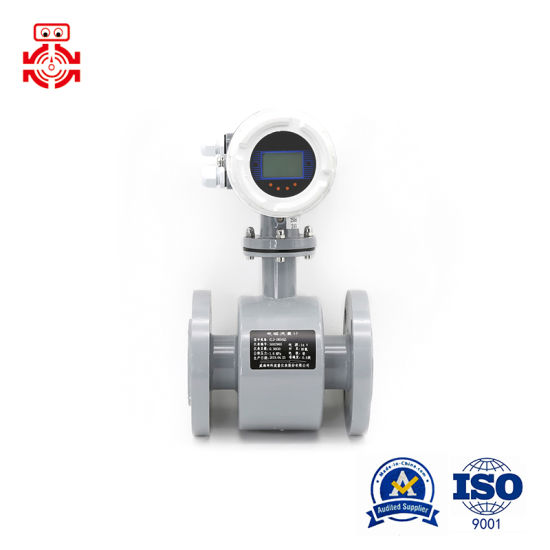 Digital Electromagnetic Flow Meter for Water/Sewage/Slurry/Acid pictures & photos