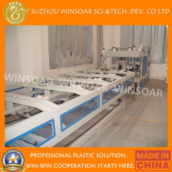 Automatic Pipe Belling Machines for PVC Building Sewerage and Pressure Pipes