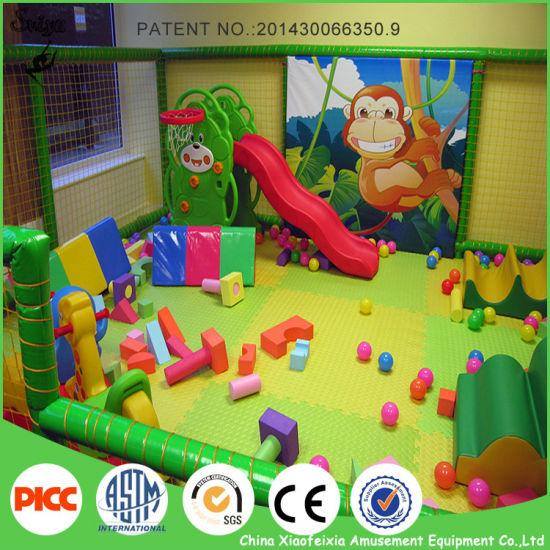 China Good Price Jungle Theme Kids Indoor Playground Equipment
