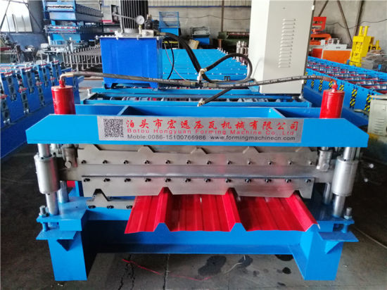 Automatic Double Layer Roll Forming Machine
