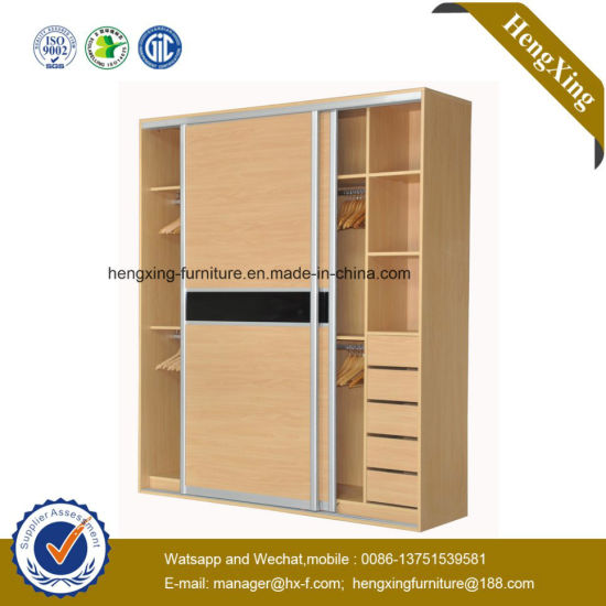 Modern Design Home Furniture Bedroom Furniture Wardrobe (HX-LC2259)