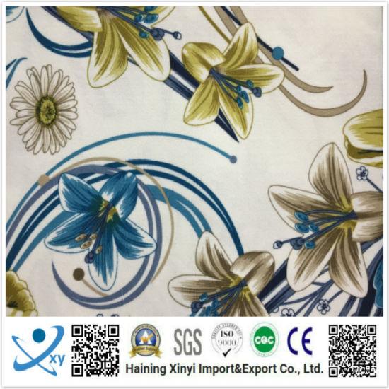 Spandex Nylon Free Style Sublimation Custom Printed Fabric Design for Swimwear, Sportswear, Underwear