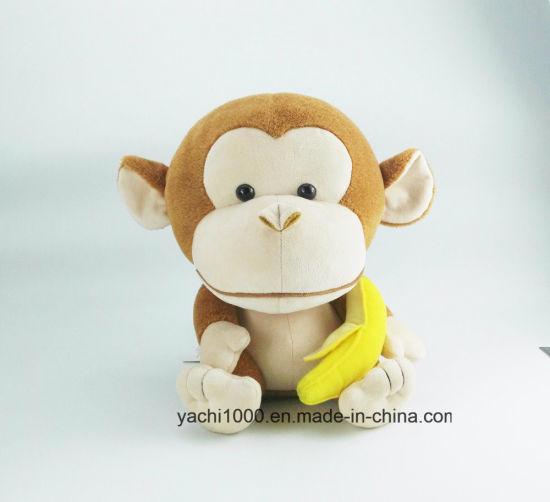 Plush Animal Toy Stuffed Monkey Kids Toy Promotion Gift