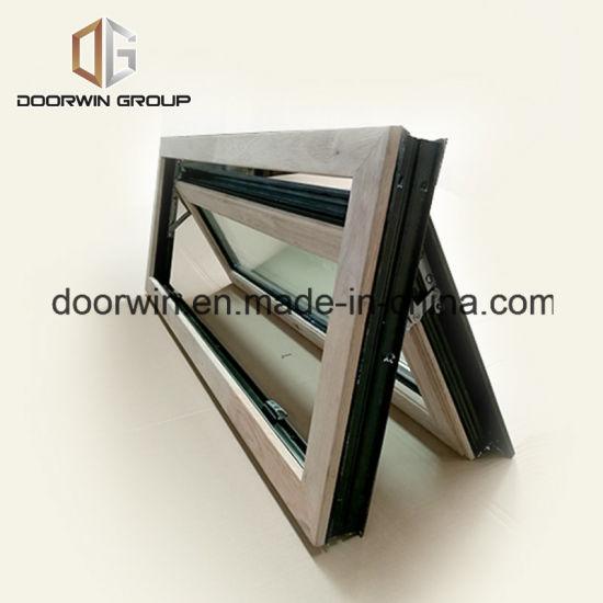 Siberian Larch Wood Aluminum Awning/Casement Window