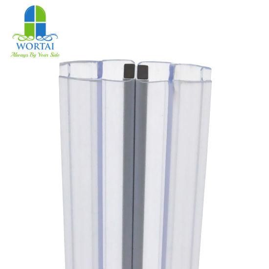 180 Degree Shower Glass Door Rubber Magnetic Seal Strip
