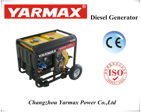 Yarmax Open Type Diesel Generator Electric Starter pictures & photos