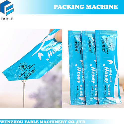 Tomato Paste/Sauce Pouch Filling Packing Machine (FB100QL) pictures & photos