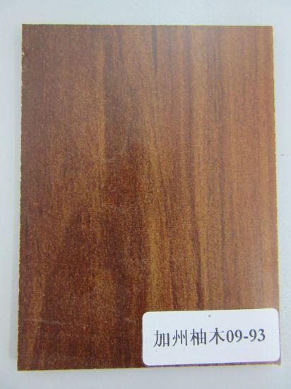 One Side Melamine Laminated MDF Fiberboard