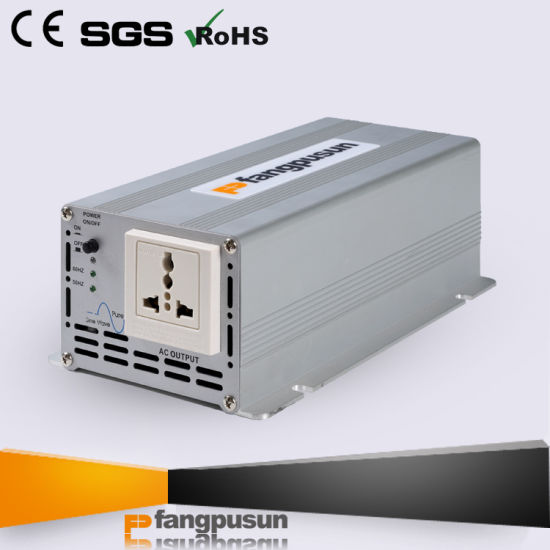 * Fangpusun Fp-S-300 Pure Sine Wave Car Power Converter 12VDC 24VDC to 110VAC 230VAC 300W Home Power Inverter with Ce RoHS