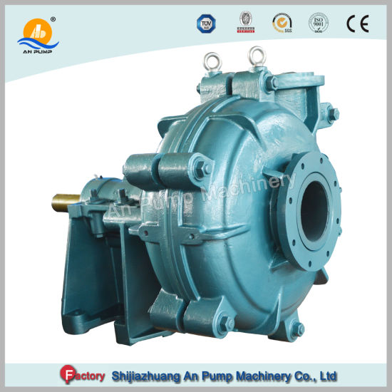 Heavy Duty Centrifugal Wear Resistant Transport Slurry Solids Pump pictures & photos
