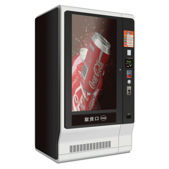 Vending Machine with 55 Inch Touchscreen- Cash Payment