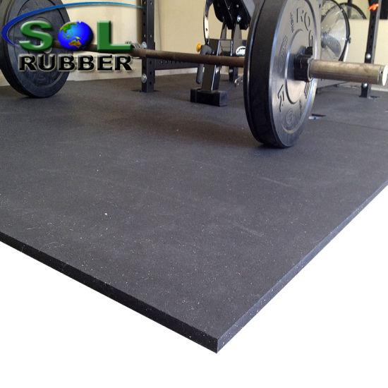 China Non Slip Gym Rubber Flooring Tile China Gym Flooring