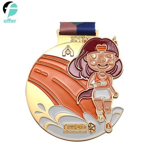 Customized High-End Metal Sports Medal pictures & photos